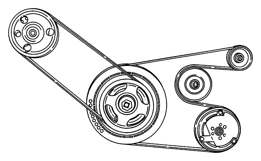Dodge Caravan Serpentine Belt  Drive  Having