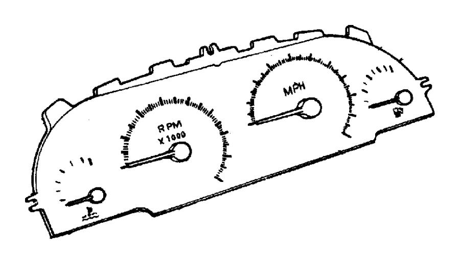 Chrysler Voyager Instrument Cluster - 4762798 | Lindsay ...
