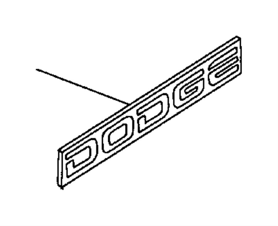 Dodge Dakota Decal
