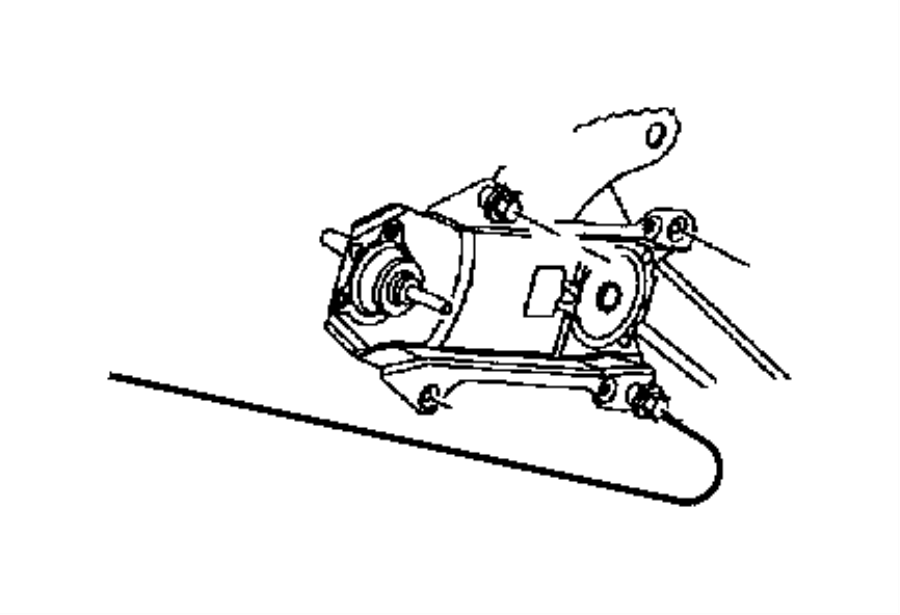Dodge Dakota Window Regulator. Make, Power - 55256419AN ...