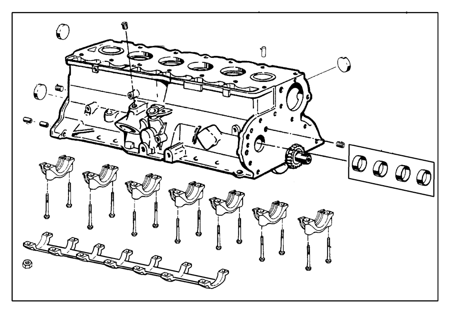 Jeep Wrangler Engine Short Block