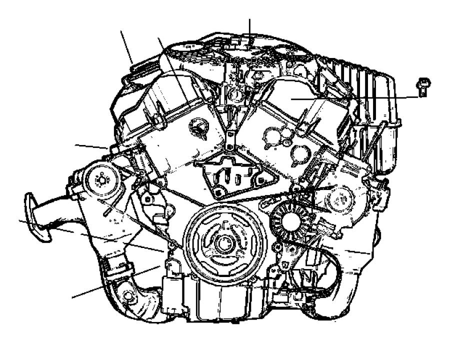 Chrysler Pacifica Manifold Absolute Pressure Sensor  Liter