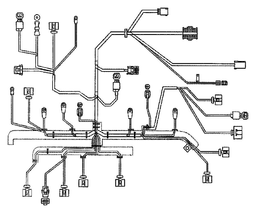 Dodge Sprinter 3500 Engine Wiring Harness