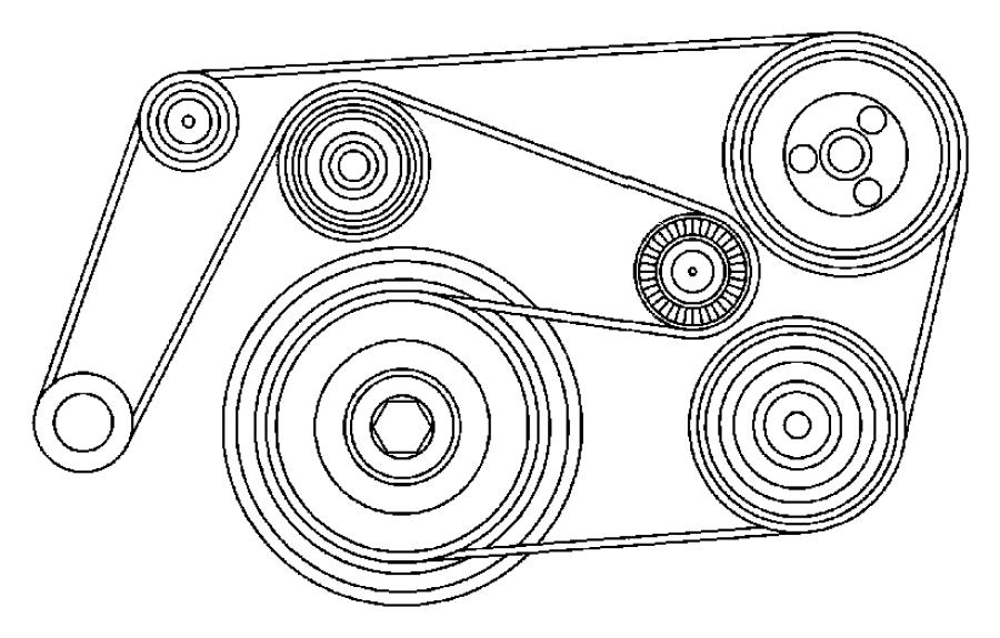 Dodge Sprinter 2500 Serpentine Belt