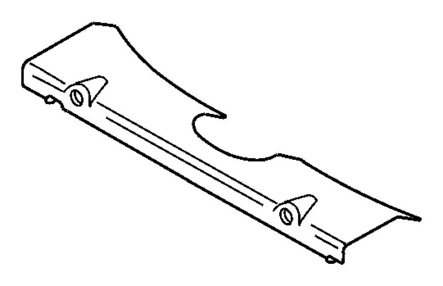 Chrysler Concorde Engine Coolant Thermostat