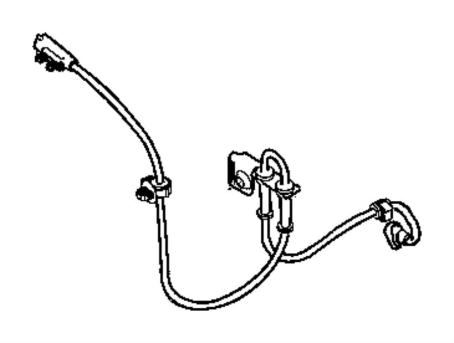 Chrysler Pacifica Abs Wheel Speed Sensor  Front