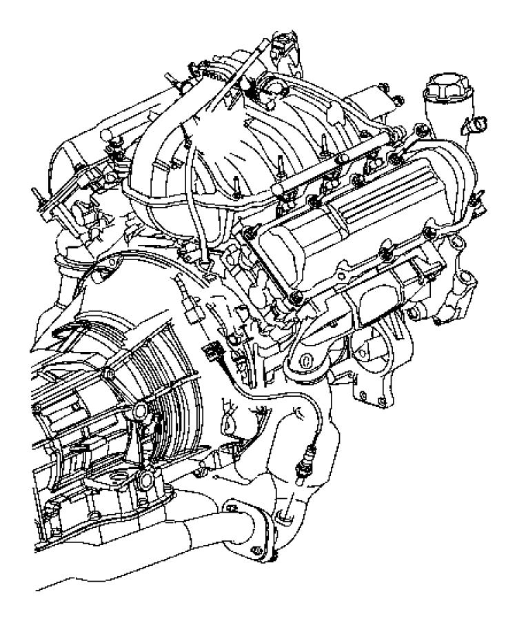 Jeep Grand Cherokee Oxygen Sensor Bracket. 2005, 4.7, 5.7 ...
