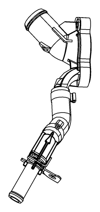 Chrysler Pacifica Engine Water Pump Gasket