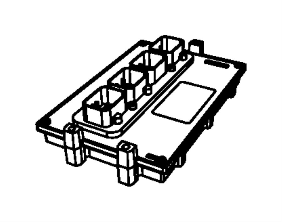Dodge Nitro Engine Control Module  4 0 Liter  Nitro  4 0l