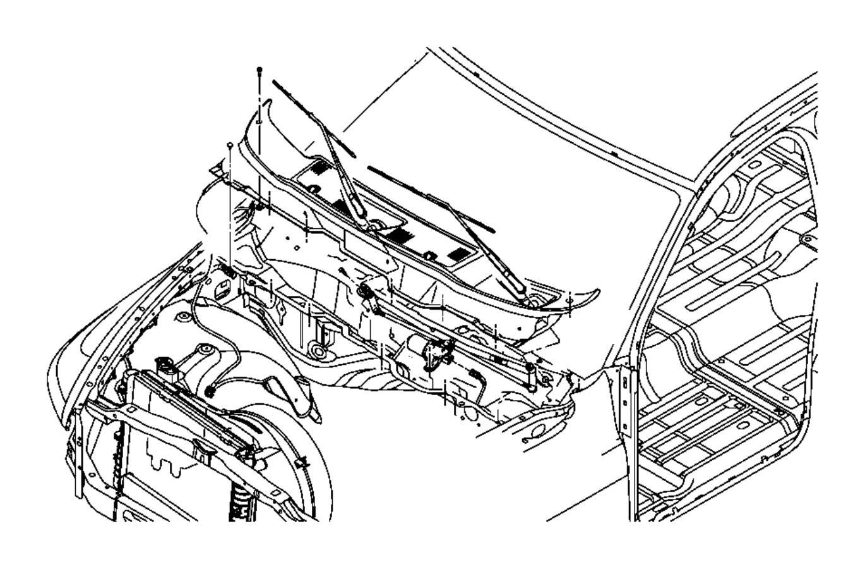 Dodge Ram 2500 Windshield Wiper Arm  Front   Windshield