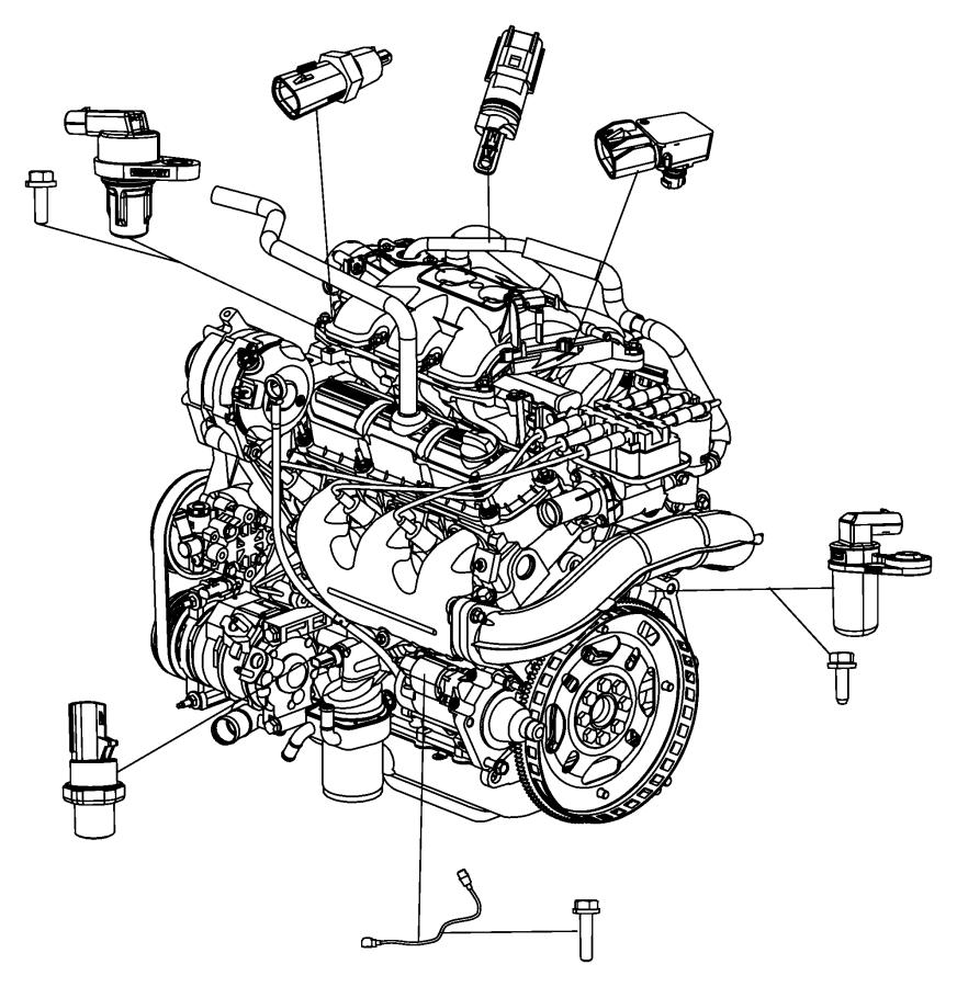 Chrysler Pacifica Engine Camshaft Position Sensor  Liter  Repair  Cause