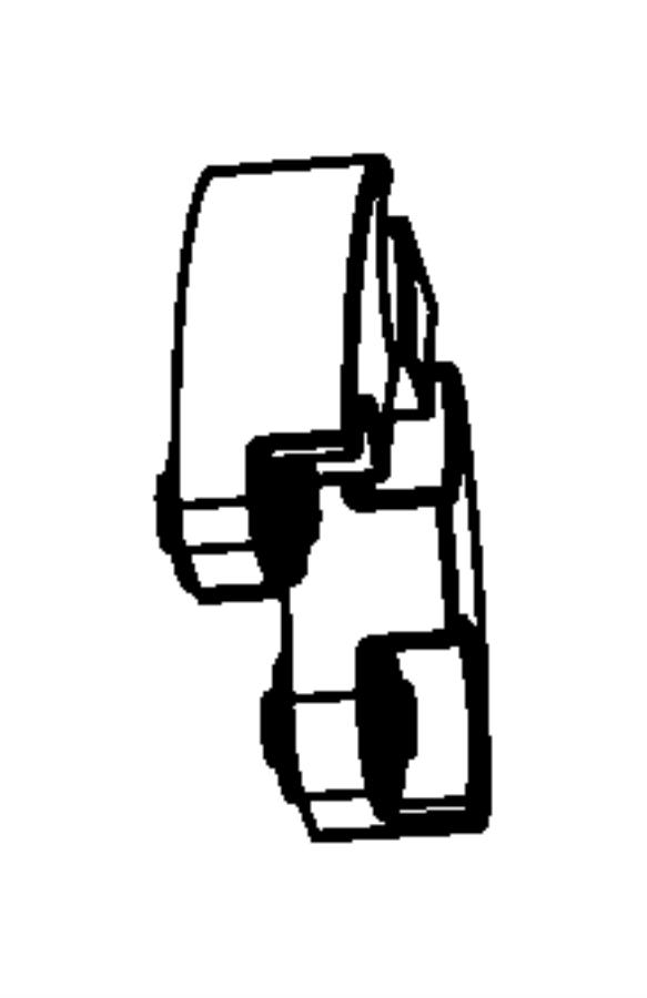 Dodge Nitro Damper  Manual Transmission  Transmission Mount  Nitro  Manual Trans