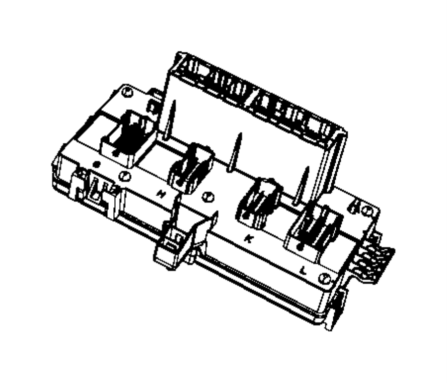 Dodge Ram 1500 Fuse And Relay Center  Block  Fuse And Relay Center  Totally Integrated