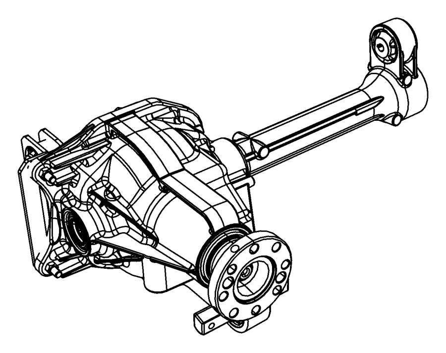 Jeep Liberty Drive Axle Assembly  4wd  3 21 Ratio  Liberty