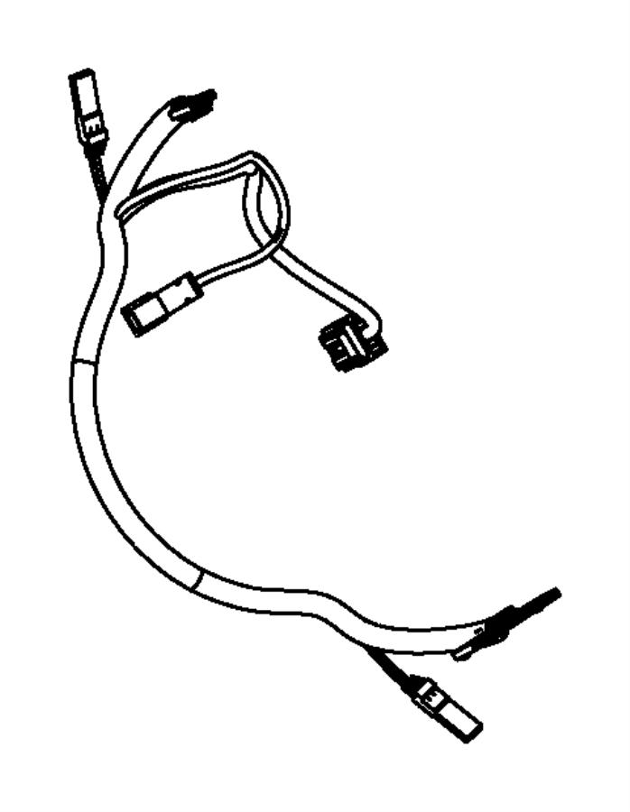 Jeep Liberty Steering Wheel Wiring Harness  All  W  O