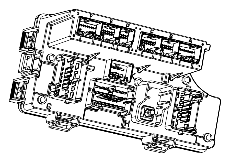 dodge avenger fuse  box  and relay center  distribution