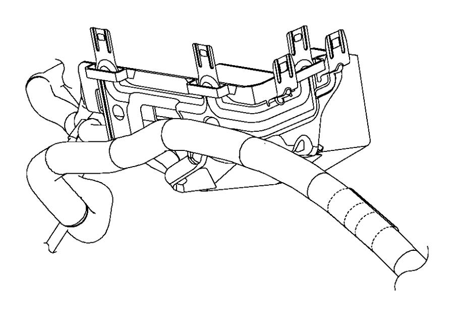 Chrysler 200 Fuse Box  Bracket