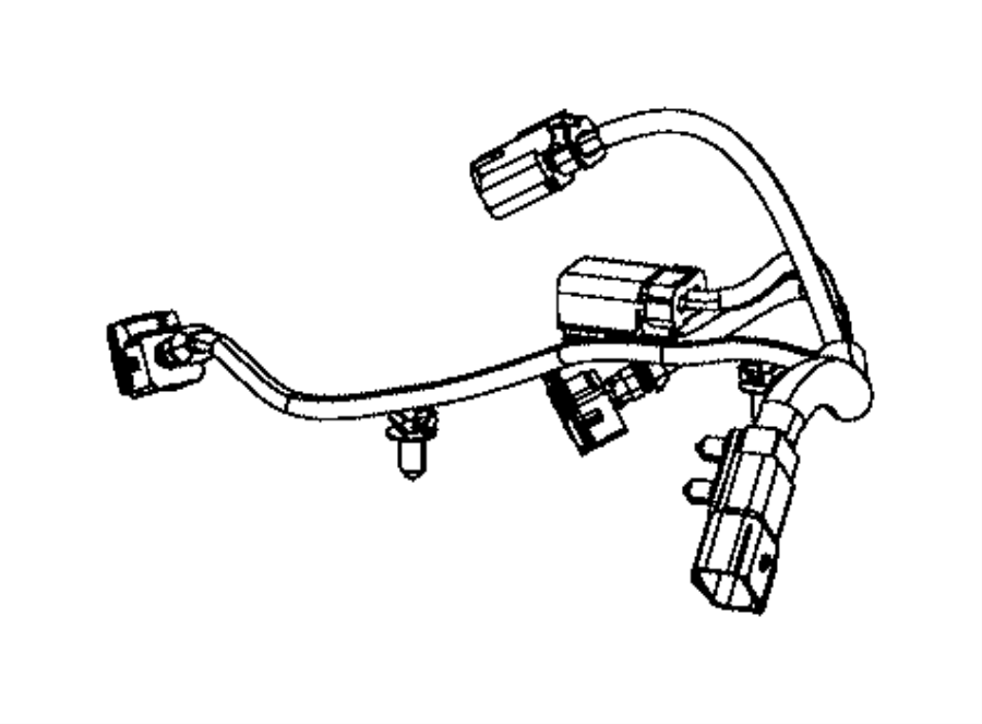 Dodge Charger Engine Wiring Harness  3 6 Liter