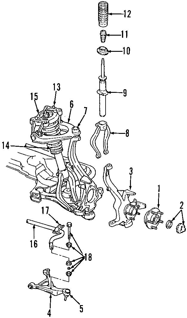Dodge Stratus Suspension Stabilizer Bar  All Models