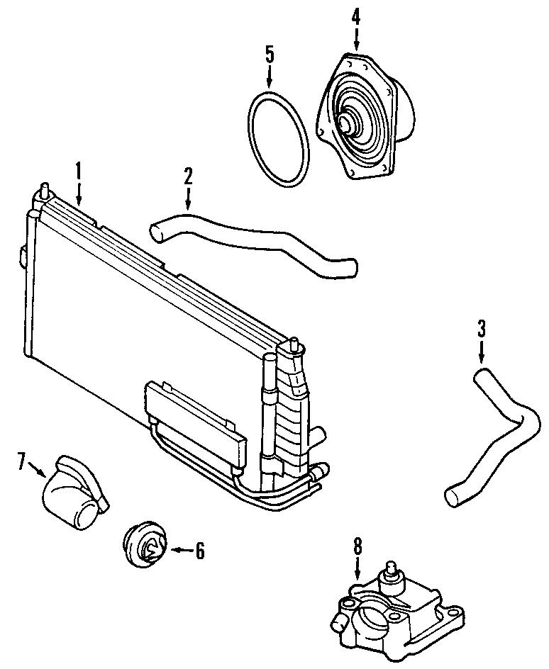 Chrysler 300m Water  Pump  Seal  Gasket  Engine