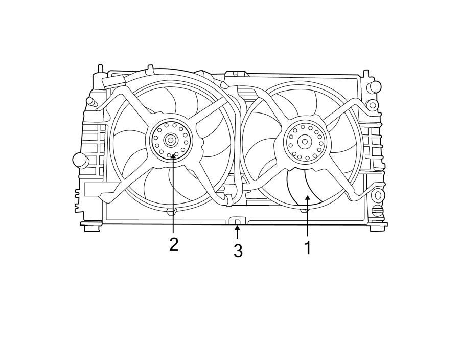 Chrysler Concorde Engine Cooling Fan Blade  Duty  Wheavy