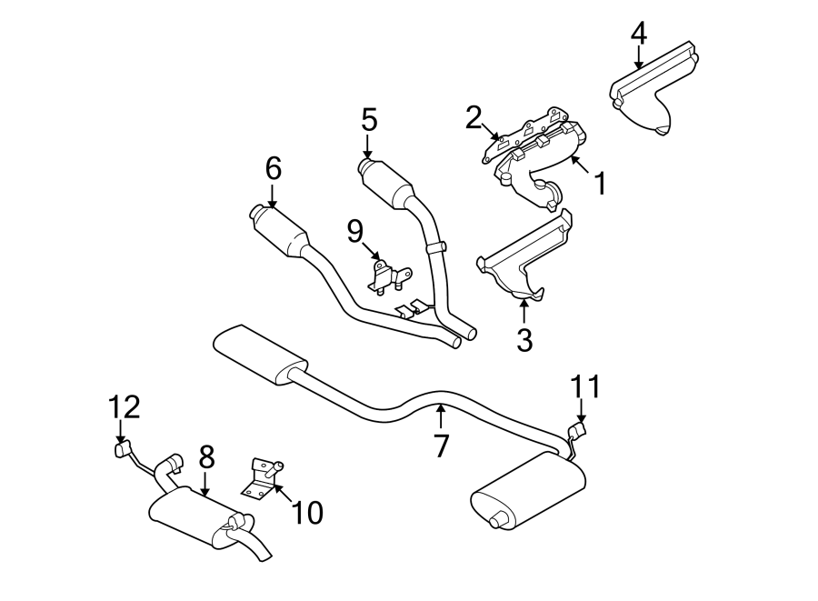 Chrysler Concorde Exhaust Manifold Gasket  Liter  System