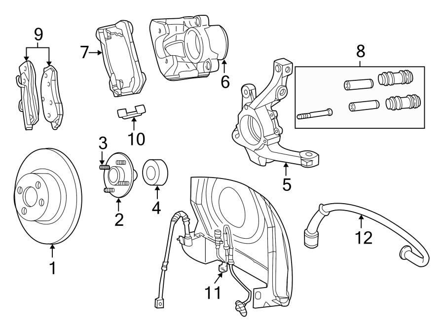 Chrysler PT Cruiser Sensor. Speed. Abs - 5273332AF   Lindsay Chrysler Dodge Jeep RAM, Manassas VA