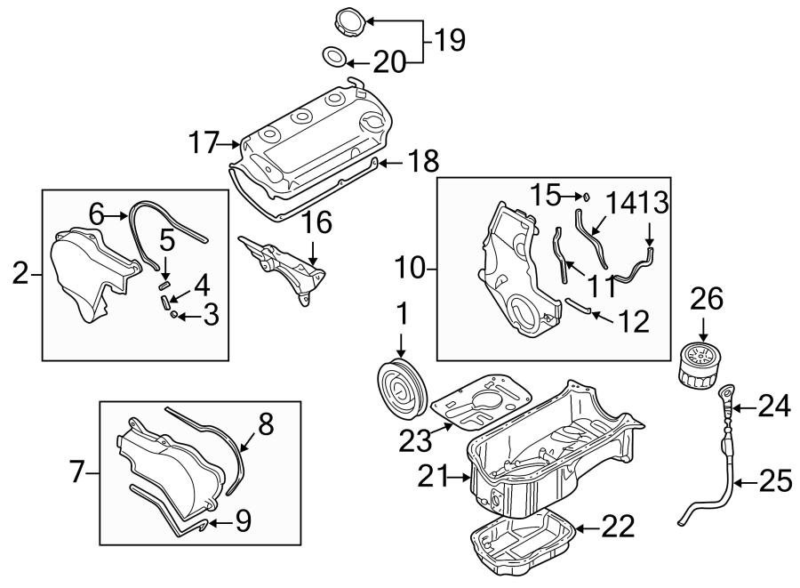 Dodge Colt Cap  Filler  Oil  Engine  Seal  2 5 Liter  Gasket  O - Ring  Included