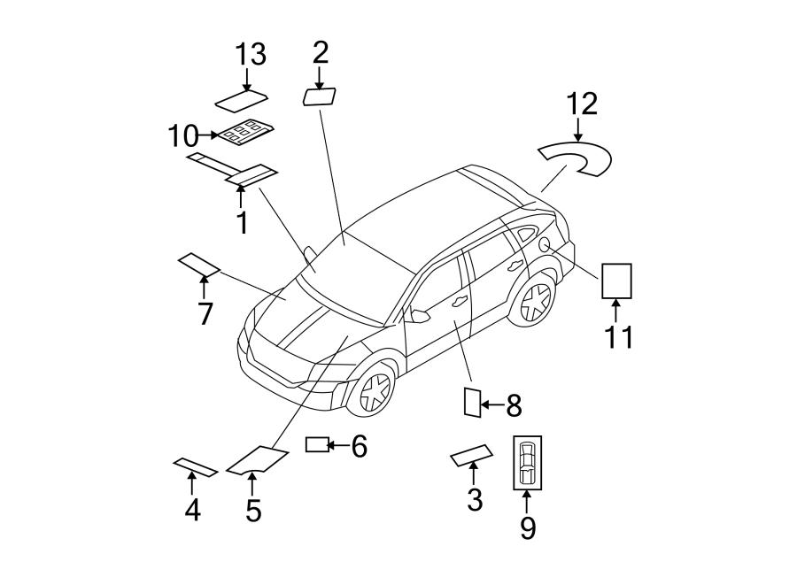 Dodge Caliber Emission Label  2 4 Liter  Manual Trans  2 4 Liter  Manual Trans  2wd