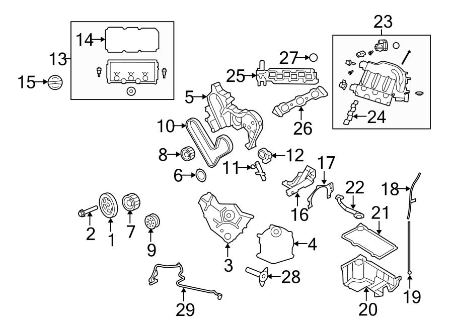 Dodge Avenger Engine Timing Belt. Engine Timing Belt ...