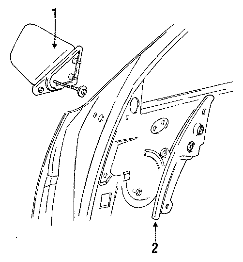 Chrysler Imperial Bezel
