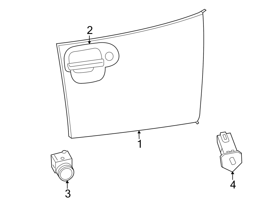 Dodge Viper Glove Box Light Switch  Panel  Instrument