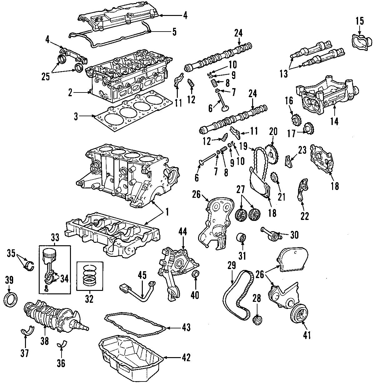 Jeep Liberty Engine Exhaust Valve  Valve  Exhaust  Engine