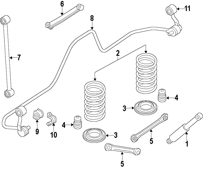 Chrysler Aspen Coil Spring Damper