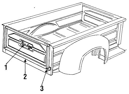 Dodge D100 Gate  Stepside