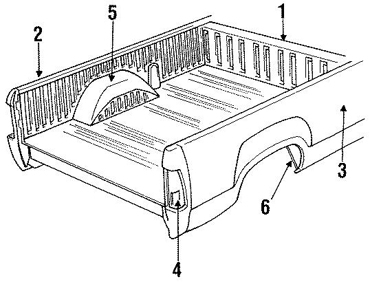 Dodge D100 Lower Brace  Side Brace  6 1  2 Ft   U0026 Side