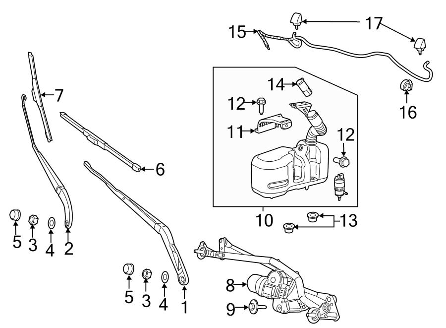 Ram Promaster 2500 Windshield Wiper Arm  Replace