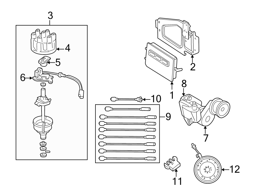 dodge durango wire  ignition  coil  5 2  u0026 5 9 liter  5 2 liter  5 9 liter  lead  cable