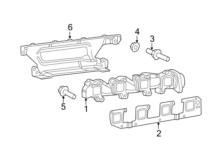 Jeep Grand Cherokee Exhaust Manifold Stud. 5.7 LITER. PICK ...