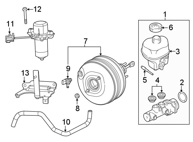 Ram 1500 Power Brake Booster Vacuum Pump