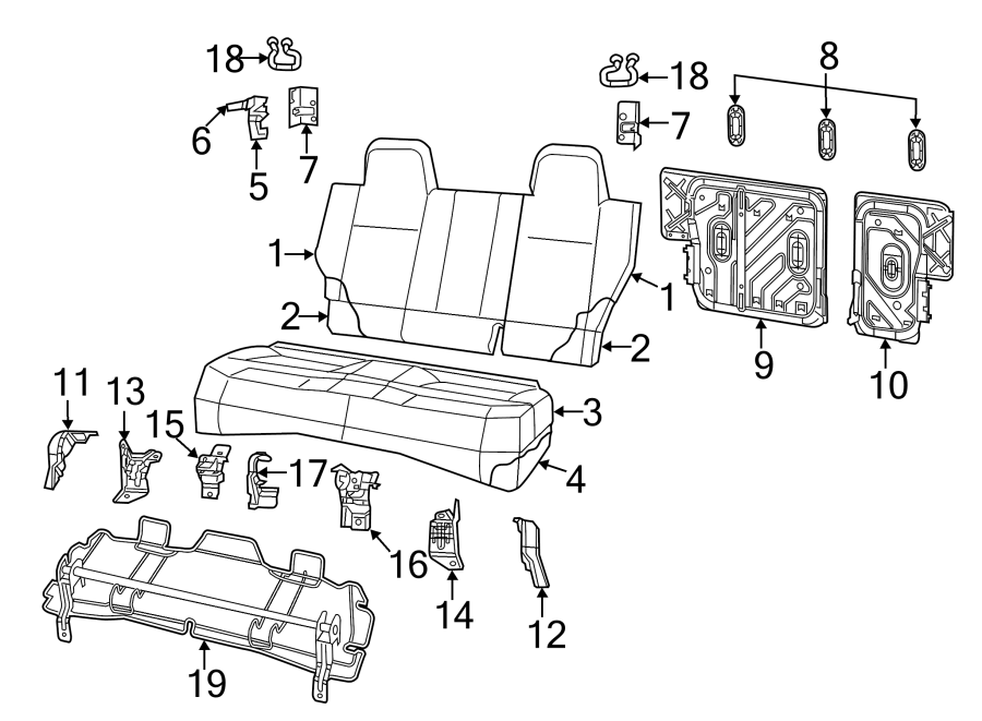 Jeep Compass Seat Belt Guide  2009