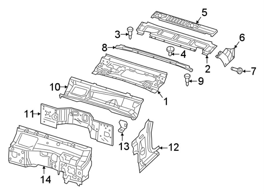 Jeep Wrangler Cover  Retainer  Pin  Bumper
