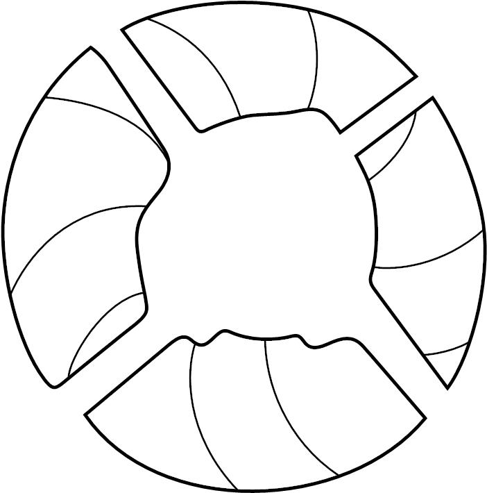 Dodge Viper Engine Cooling Fan Blade